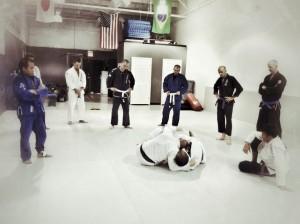 starting jiu jitsu BJJ Class